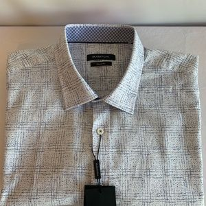 Bugatchi men's short sleeve shirt beautiful XXL